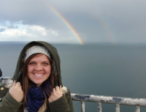 Double Rainbow Waterfall
