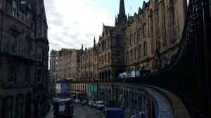 Victoria Street, filled with adorable little shops, and a second-hand bookshop that I spent way too much time in