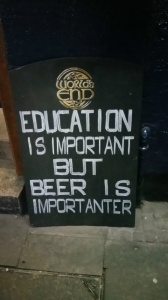 beer is important