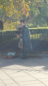 Bagpipes and Kilts